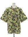 Mens Hippie Style Sport Shirt