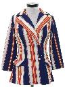 Womens Mod Blazer Style Jacket