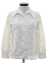Womens Knit Leisure Style Shirt