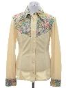 Womens/Girls Knit Western Shirt