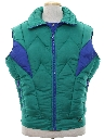 Mens Totally 80s Ski Vest Jacket