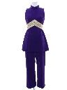 Womens Mod Velvet Go Go Style Suit