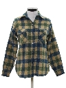 Womens Wool Flannel Shirt