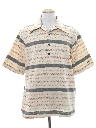 Mens Hang Ten Knit Shirt