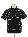 Mens Knit Golf Style Polo Shirt