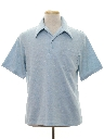 Mens Knit Polo Style Golf Shirt