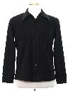 Mens Mod Knit Shirt-Jac style Shirt