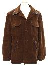 Mens Velvet Car Coat Jacket