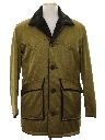 Mens Mod Western Style Car Coat Jacket
