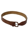 Mens Accessories - Reptile Leather Belt