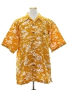 Mens Totally 80s Hawaiian Beer Shirt