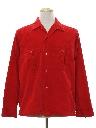 Mens Corduroy Sport Shirt