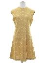 Womens Mod Knit A-Line Dress