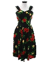 Womens Totally 80s Hawaiian Dress