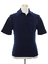 Mens Mod Knit Banlon Shirt