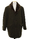 Mens Mod Wool Car Coat Jacket