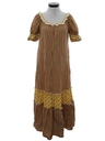 Womens Hawaiian Hippie Maxi Dress