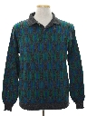 Mens Totally 80s Lightweight Knit Sweater Shirt