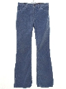 Mens Bellbottom Corduroy Pants