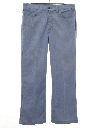 Mens Flared Jeans-Cut Pants