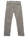 Mens Corduroy Jeans-cut Pants