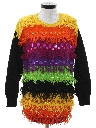 Womens Totally 80s Style Cocktail Sweater