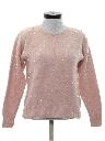 Womens Beaded Angora Sweater