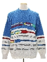Mens Totally 80s Mod Ski Sweater