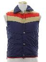 Mens Totally 80s Ski Vest Jacket
