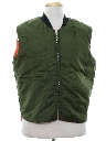Mens Reversible Ski Style Work Vest Jacket