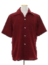 Mens Knit Sport Shirt