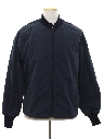 Mens Gas Station Style Work Zip Jacket
