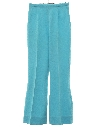 Womens Bellbottom Flared Knit Pants