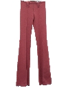 Womens Flared Knit Western Pants
