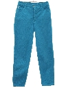 Womens Totally 80s Tapered Leg Denim Jeans Pants
