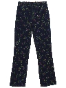 Womens Totally 80s Print Jeans Denim Pants