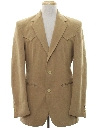 Mens Western Blazer Sport Coat Jacket