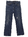 Mens Grunge Levis 517 Slight Bootcut Flared Denim Jeans Pants