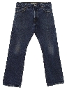 Mens Grunge Levis 517 Flared Denim Jeans Pants