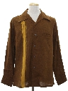 Mens Reproduction Retro Gabardine Sport Shirt