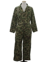 Mens Camo Hunting Coveralls