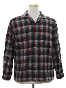 Mens Wool Sport Shirt
