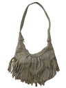 Womens Accessories - Totally 80s Leather Fringed Purse