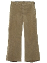 Mens Flared Pants