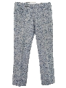 Mens Mod Flared Leisure Pants