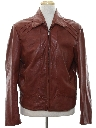 Mens Fight Club Style Leather Jacket
