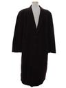 Mens Designer Armani Italian Wool Overcoat Jacket