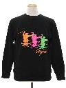 Mens Totally 80s Ski Sweatshirt