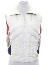 Womens Totally 80s Ski Vest Jacket