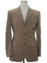 Mens Mod Leisure Style Blazer Sport Coat Jacket